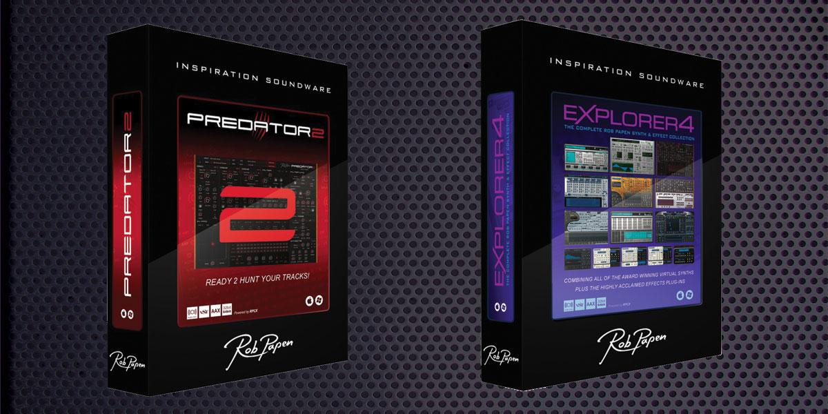 【Rob Papen新製品】「Predator2」「eXplorer4」発売のご案内