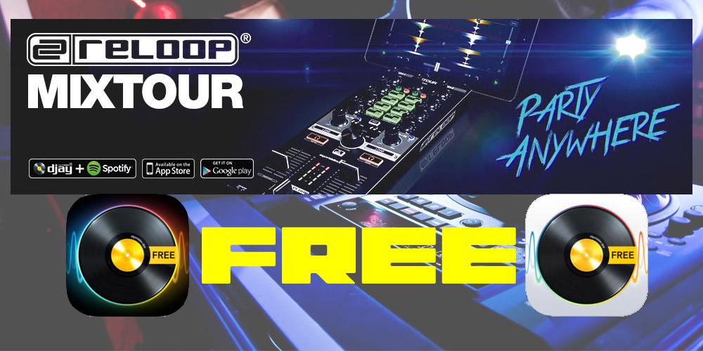 【DJ連載-96-】djay PRO の新バージョンをMIXTOURで操作してみる。