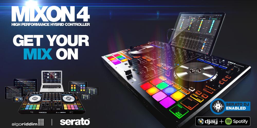 【Reloop新製品】DJコントローラ「MIXON4」発売のご案内