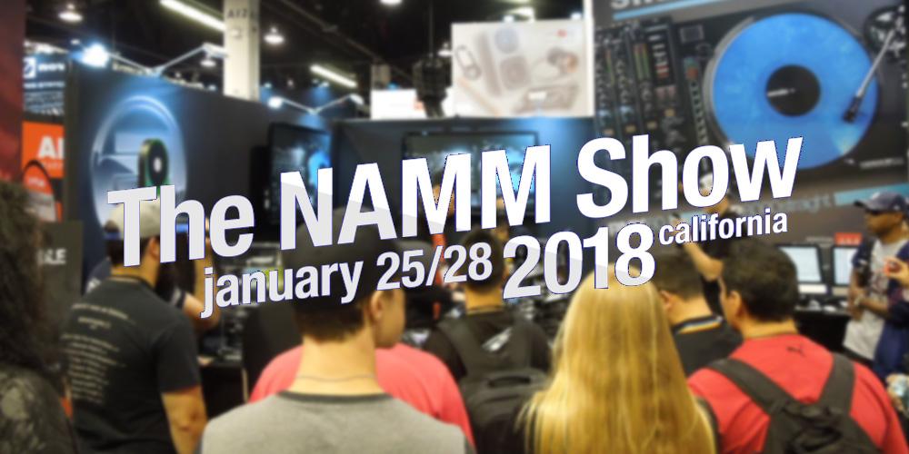 【現地レポート】NAMM2018 Day.1