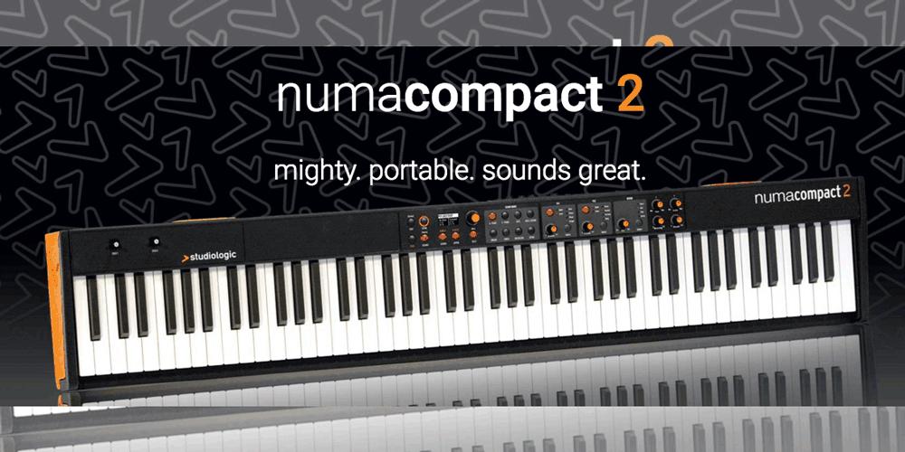 Studiologic新製品「Numa Compact 2」発売のお知らせ