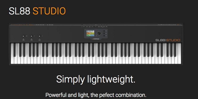 Studiologicから新製品「SL88 STUDIO」発売のお知らせ