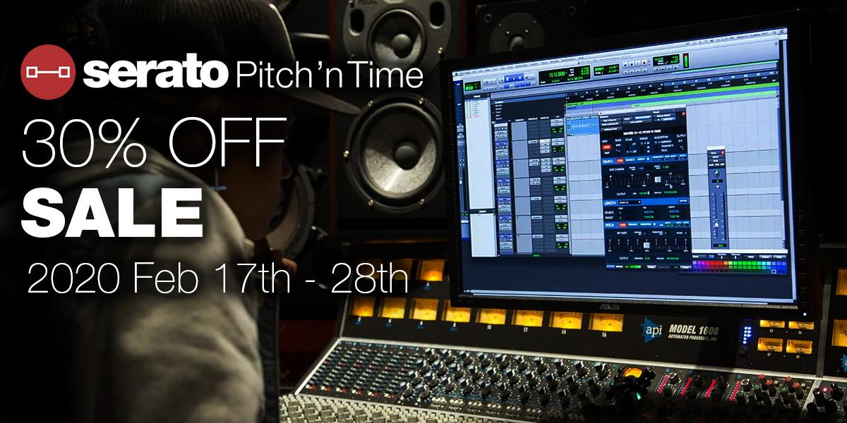 【特価セール】Serato Pitch 'n Time Pro / LE【期間限定】