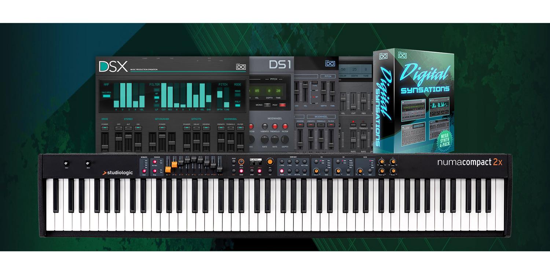 Studiologicを買って、UVI Digital Synsationsをゲット!