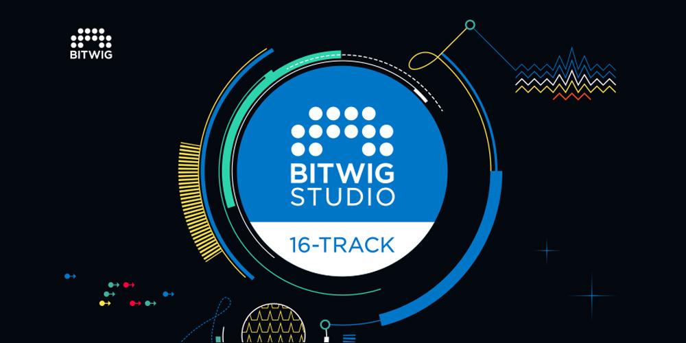 【新製品】Bitwig Studio 16-Track発売のご案内