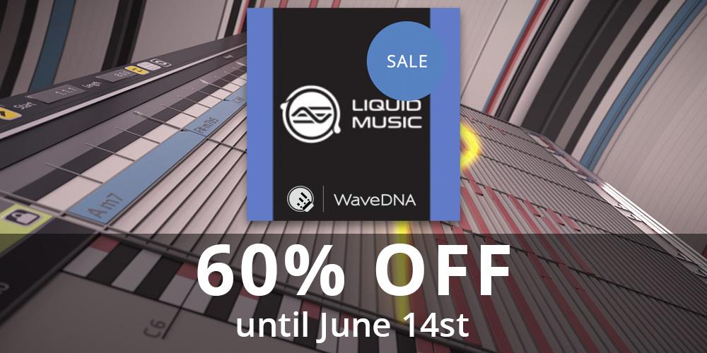 """【セール】WaveDNA """"Liquid Music"""" 60%オフ!【期間延長】"""