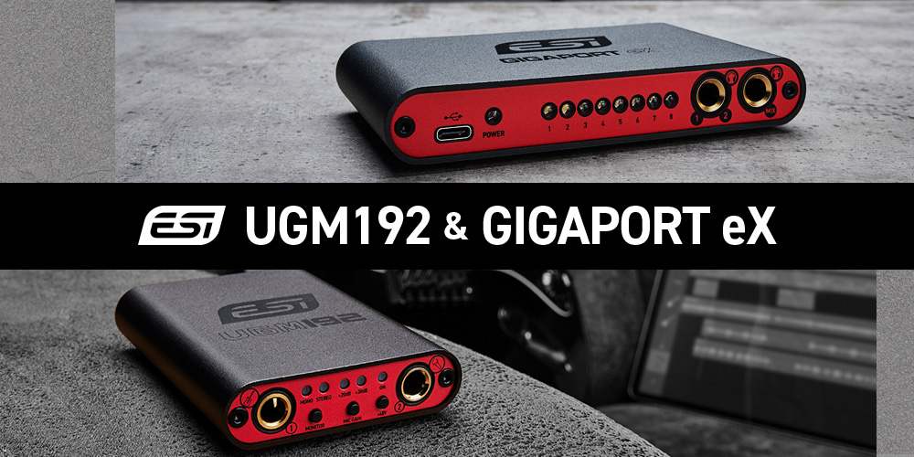 ESI UGM192 / GIGAPORT eXメディアキット