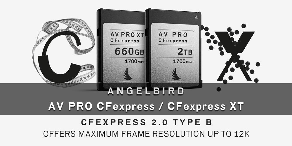 """【新製品】Angelbird """"AV PRO CFexpress"""" & """"AV PRO CFexpress XT""""発売のご案内"""