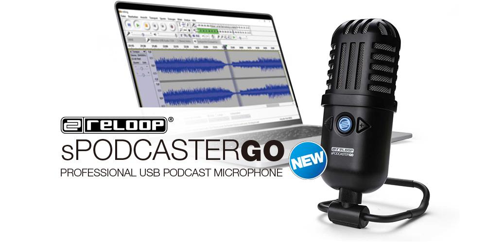【新製品】Reloop「sPodcaster Go」発売のご案内