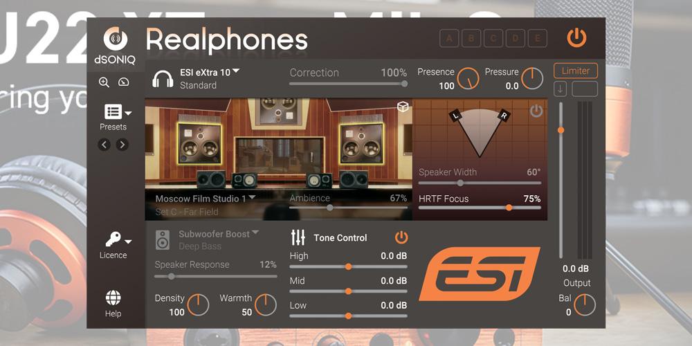 Realphones ESI Edition_メディアキット