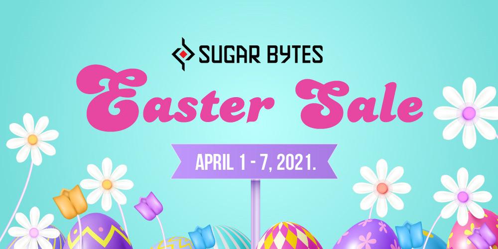 【イースターセール】Sugar Bytes製品 最大60%オフ!【期間限定】