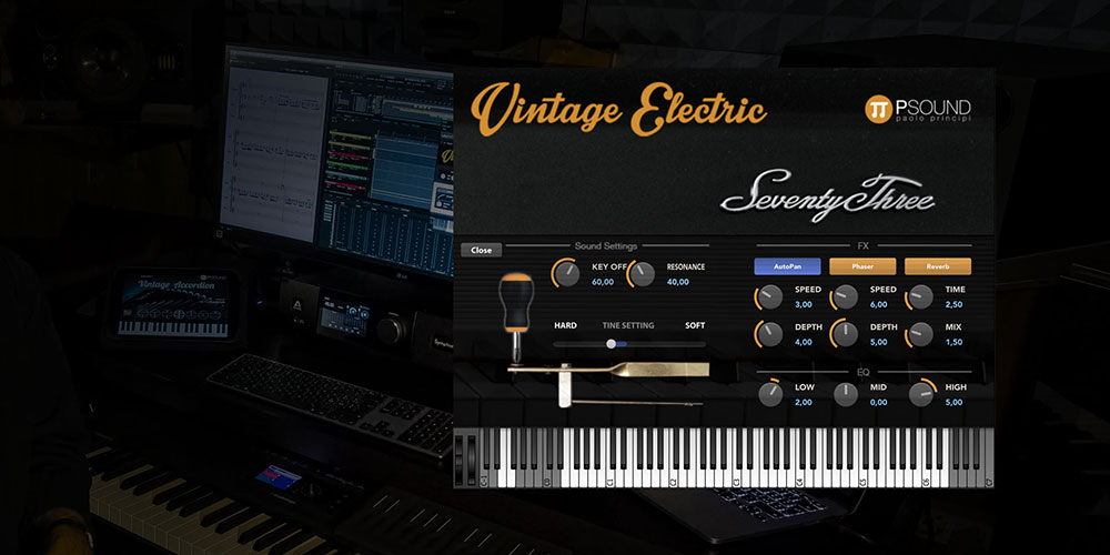 Studiologicを買って、PSound Vintage Electric の50%クーポンをゲット!