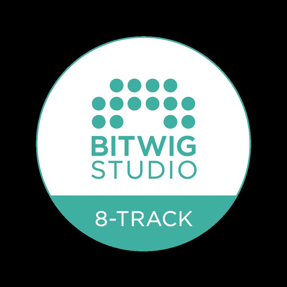 Bitwig Studio 8-Track メディアキット