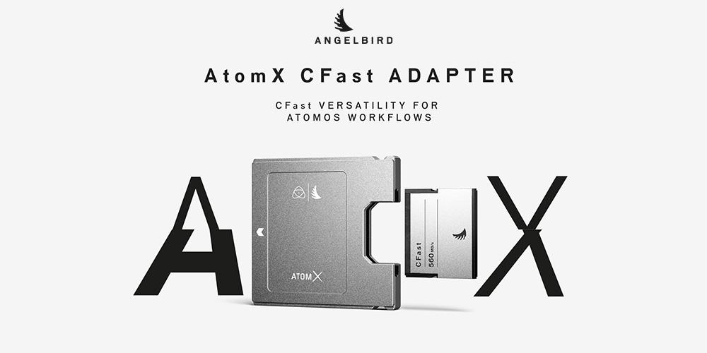 Angelbird「AtomX CFast Adapter」メディアキット
