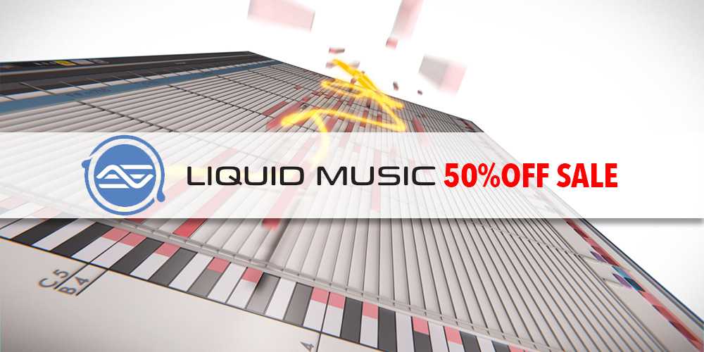 """【セール】WaveDNA """"Liquid Music"""" 50%オフ!【期間延長】"""