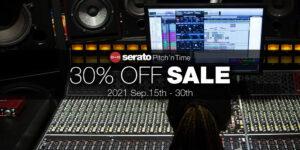 【2021年9月】Serato Pitch 'n Time Pro/LE 30%OFFセール