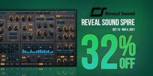 """【期間限定】Reveal Sound """"Spire"""" 32%オフ!【セール】"""