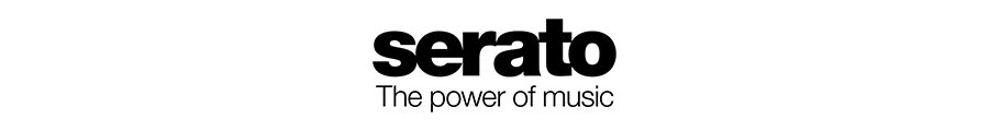 Serato_the power of Musicロゴ