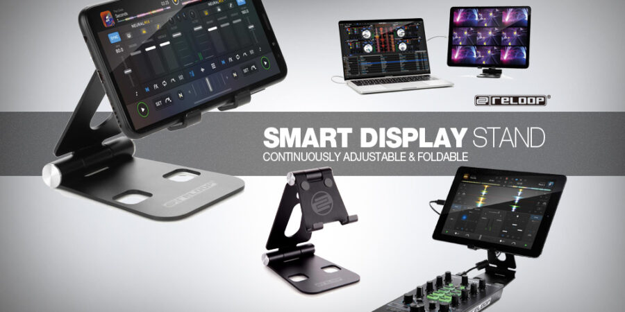 Reloop Smart Display Stand メディアキット