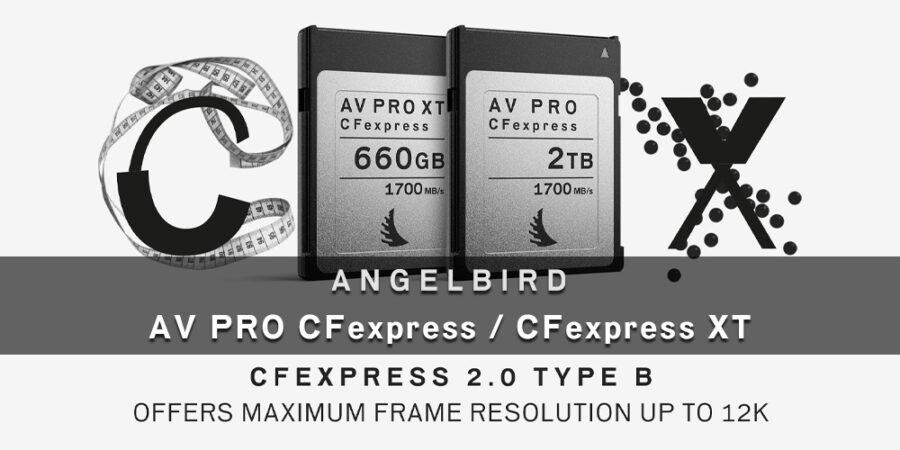 "Angelbird ""AV PRO CFexpress"" & ""AV PRO CFexpress XT"" メディアキット"