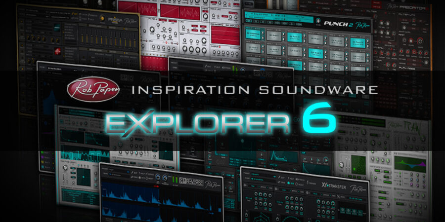 Rob Papen eXplorer 6メディアキット