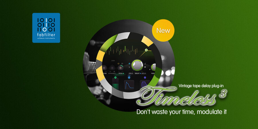 FabFilter Timeless 3メディアキット