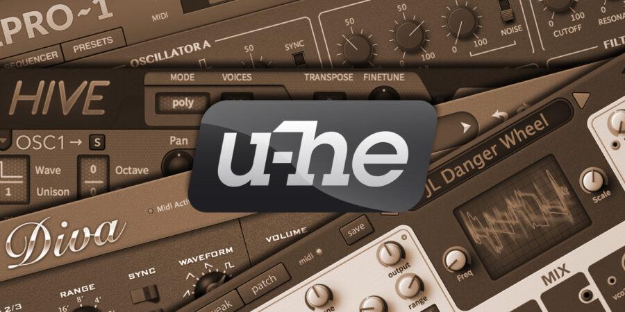 u-he製品共通インストールガイド